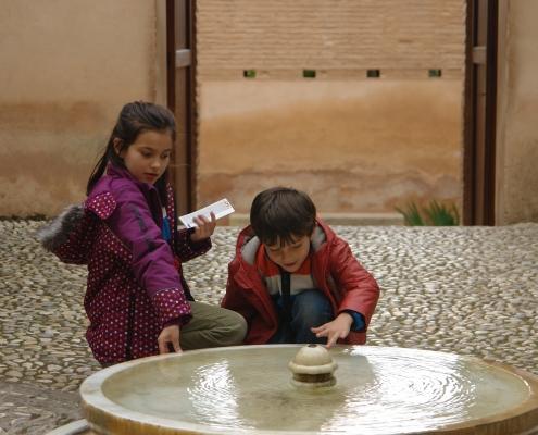 Visita niños Alhambra Granada