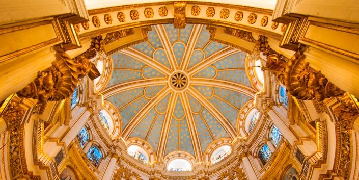Techo cúpula catedral Granada