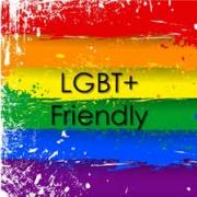 LGTB+ bandera