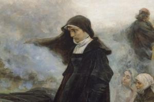 Juana de entierro